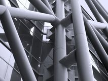 Modern Architectural Detail stock photos