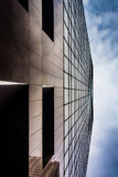Modern architectural details in downtown Baltimore, Maryland. Royalty Free Stock Photo