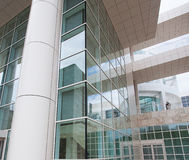 Modern architectural features of the Getty Royalty Free Stock Image