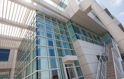 Modern architectural features of the Getty Royalty Free Stock Photography