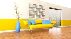 Modern architectural interior Stock Image