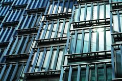 Modern architectural patterns Royalty Free Stock Photos