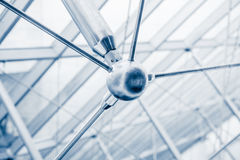 Modern Architectural Skylight Structure Details Stock Image