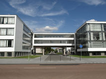 Modern architecture. In Dessau, Germany (south of Berlin Stock Photography