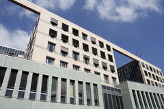 Modern architecture. Modern glass office building in Vienna, Austria Stock Photography