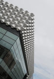 Modern Architecture. Very modern architectural details of a shopping centre in Dresden Stock Images