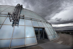 Modern architecture. Perlan (The Pearl) building - famous landmark of Reykjavik in Iceland Stock Images