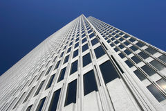 Modern Architecture. Looking up tall building in San Francisco Royalty Free Stock Photography