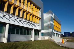 Modern Architecture Color color, patterns in modern architecture stock image - image: 3648351