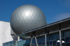 Modern architecture. Detail of science centre in Tartu, Estonia Royalty Free Stock Photos