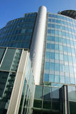 Modern Architecture 2 Building in Offices Quarter. Milan royalty free stock photography