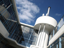Modern architecture. Modern building zonnestraal in Hilversum Royalty Free Stock Image
