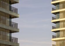 Modern architecture. Apeldoorn, Holland Royalty Free Stock Image