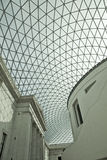 Modern Architecture. The Great Court at the British Museum in London Royalty Free Stock Images