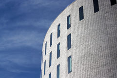 Modern architecture. Detail of a modern facade Royalty Free Stock Photography