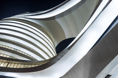 Modern architecture. In the night Stock Images