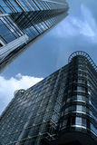 Modern architecture 3. Modern architecture and office buildings in London Royalty Free Stock Image