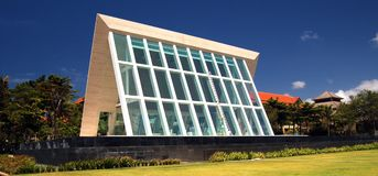 Modern Architecture. A picture of a modern building with glass walls Stock Image