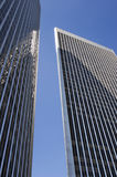 Modern architecture. Century City Plaza Towers Stock Photography