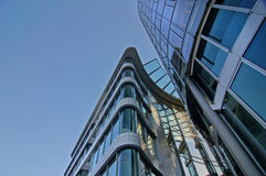 Modern Architecture. CBD - Bank/Business district Royalty Free Stock Photo