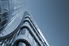 Modern Architecture. CBD - Bank/Business district Royalty Free Stock Image
