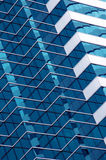 Modern Architecture. Diagonal view of a glass building stock images