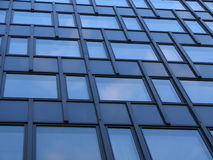 Modern Architecture. Building wall pattern of glass and metal Stock Photo