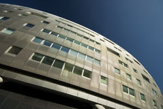 Modern Architecture. Modern abstract architecture in London stock images