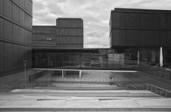 Modern Architecture of Aachen stock images