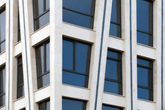 Modern architecture abstract fragment Royalty Free Stock Images