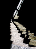 Modern architecture abstract - train station steps, light and sh Stock Photo
