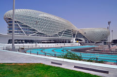 Modern architecture in Abu Dhabi, United Arab Emirates Stock Photos