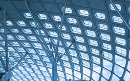 Modern Architecture of airport Stock Image