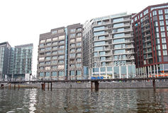 Modern architecture in Amsterdam, Netherlands Royalty Free Stock Photos
