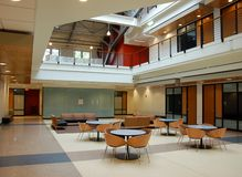 Modern Architecture - Atrium Royalty Free Stock Photo