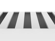 Modern Architecture Background. Abstract White Wallpaper Stock Image
