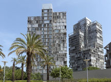 Modern architecture in Barcelona Stock Photos
