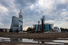 Modern architecture in Batumi Stock Photos