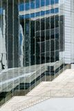 Modern architecture in Berlin. Modern architecture with glass reflexions in Berlin/Germany Stock Image
