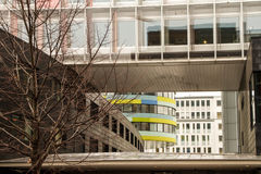 Modern Architecture in Berlin. Capital city of Germany Stock Images