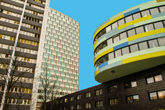 Modern Architecture in Berlin. Capital city of Germany Royalty Free Stock Photography