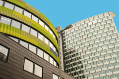 Modern Architecture in Berlin. Capital city of Germany Stock Photos