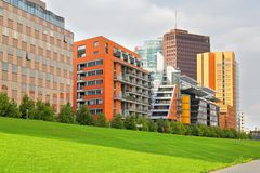 Modern architecture in Berlin. Germany Royalty Free Stock Photos