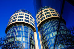 Modern Architecture in Berlin, Germany Royalty Free Stock Images