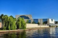 Modern architecture in Berlin Stock Photography