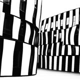 Modern architecture in black and white Stock Photos
