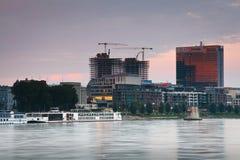 Modern architecture in Bratislava. Stock Images