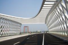 Modern architecture, bridge Royalty Free Stock Photos