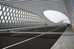 Modern architecture, bridge Stock Photography