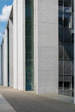 Modern architecture, building detail exterior Stock Photography